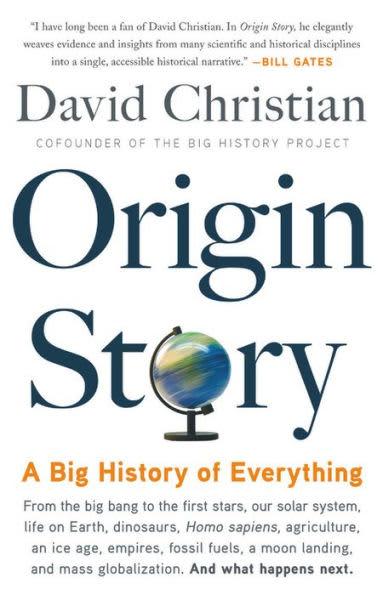 Gates summer reading: origin story
