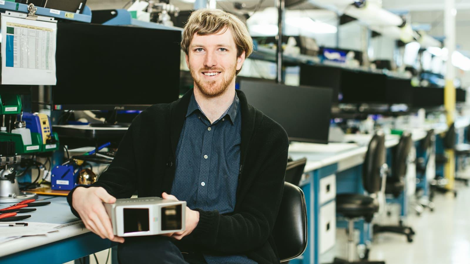 Thiel fellow Austin Russell founded self-driving car tech co. Luminar