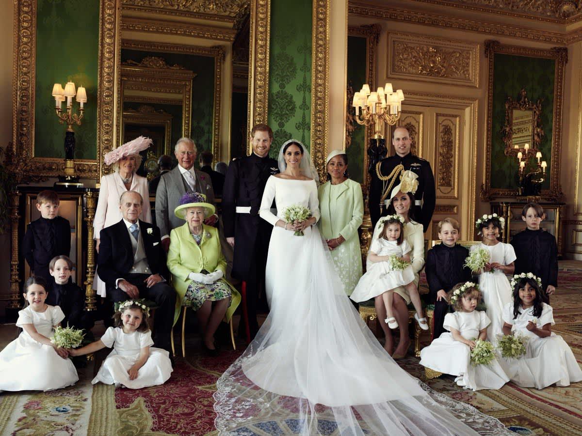 e65c0a9e8f5 Meghan Markle s wedding dress was marvelous says Givenchy-owner LVMH