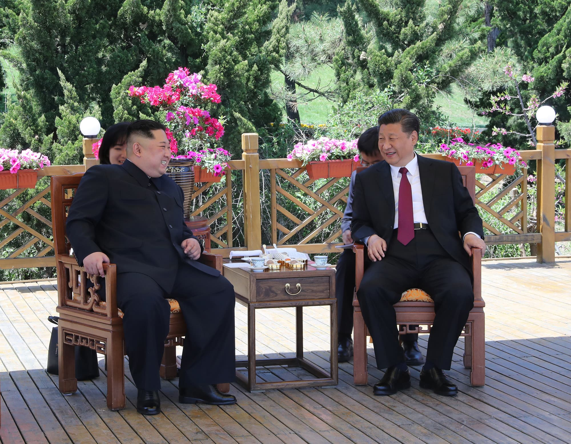 China's Xi Jinping arrives in North Korea on a visit 'big on symbolism'