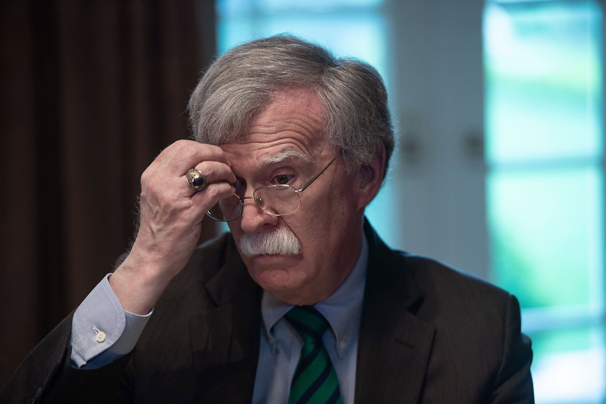 National Security Adviser John Bolton.