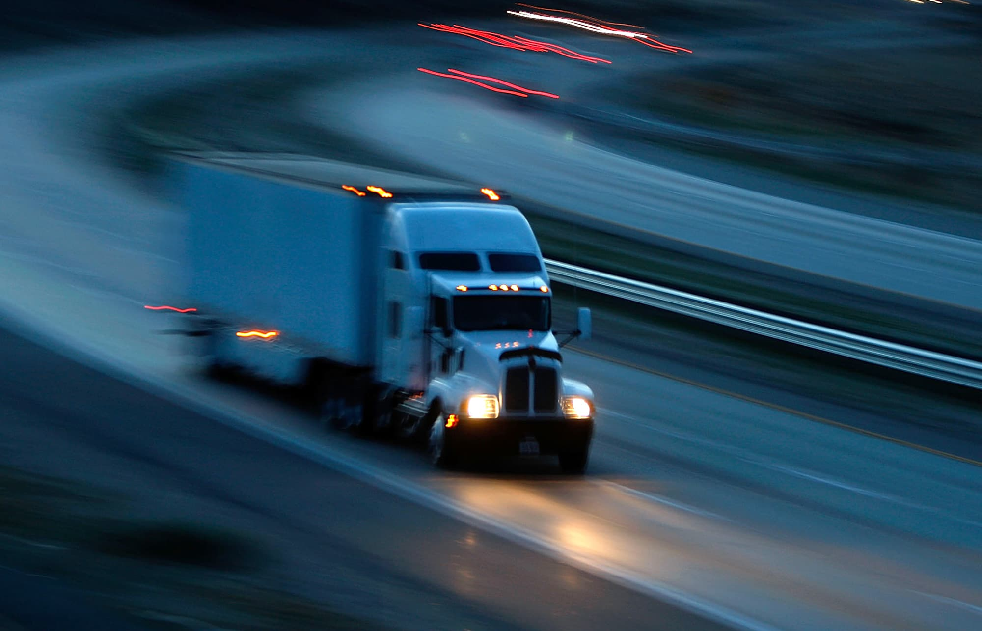 CEO of the largest US trucking company predicts 'difficult' quarter for transport industry