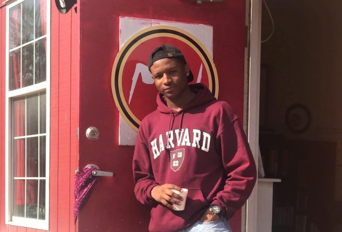 cd86fe32980 Teen who grew up in homeless shelters earns full ride to Harvard University