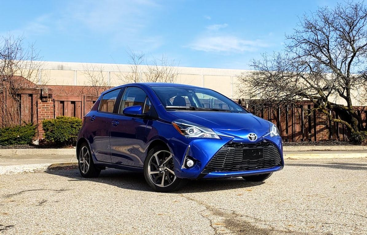 2018 Toyota Yaris review