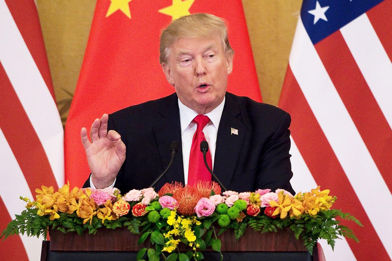 GP: Donald Trump US China trade