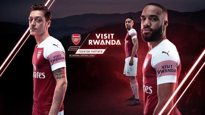 Image result for arsenal visit rwanda