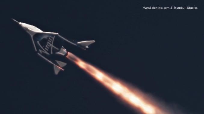 Handout: Virgin Galactic Unity first powered flight 180529