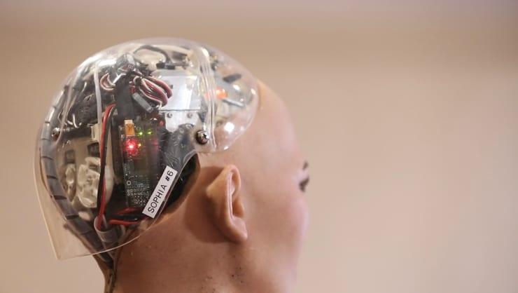 CNBC: Sophia the robot 1