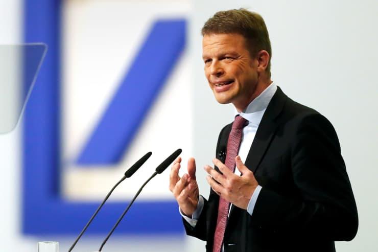 RT: Christian Sewing, CEO of Deutsche Bank 180524