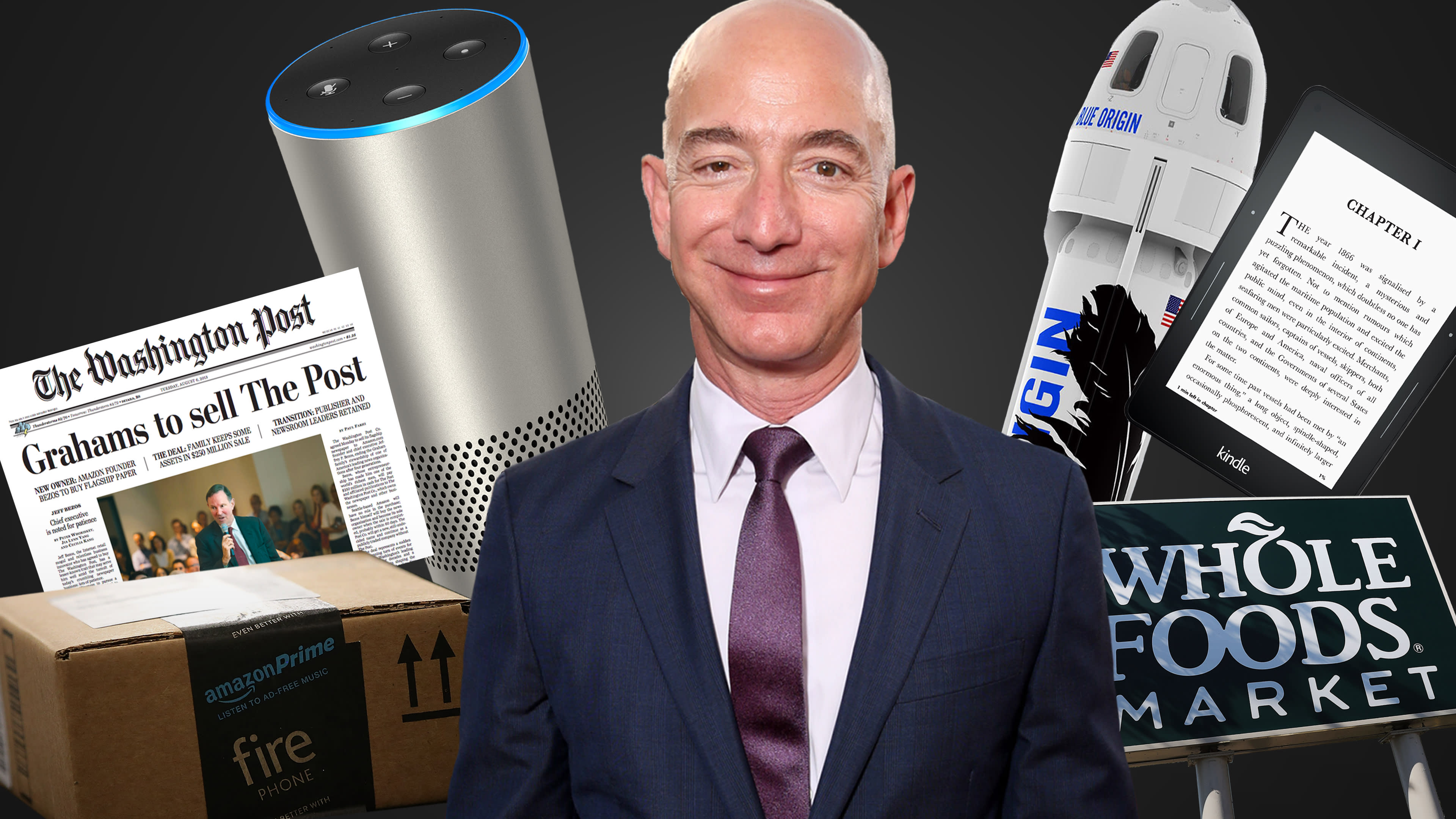 Jeff Bezos is so much bigger than Amazon — a look at his extraordinary  empire