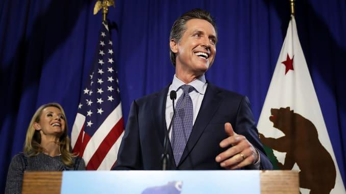 Gavin Newsom and John Cox advance in California governor's race