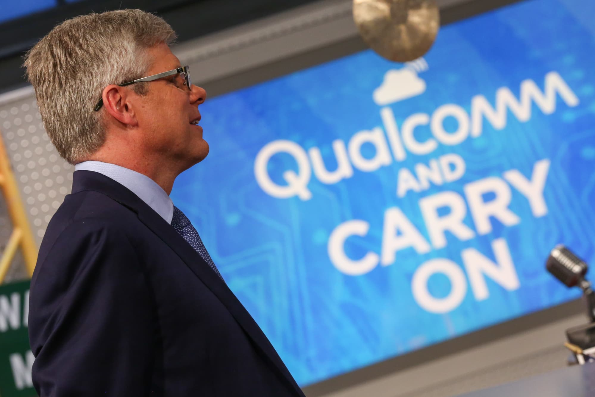 Stocks making the biggest moves midday: Qualcomm, Sprint, Tesla, Del Frisco's & more