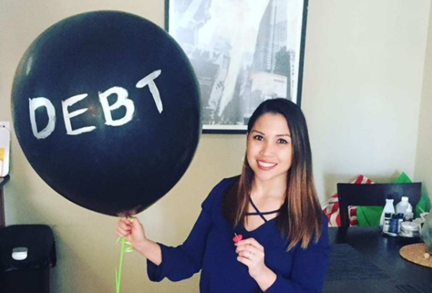 Millennial who saved up to $3,400 a month to get out of debt used a brilliant money-saving strategy