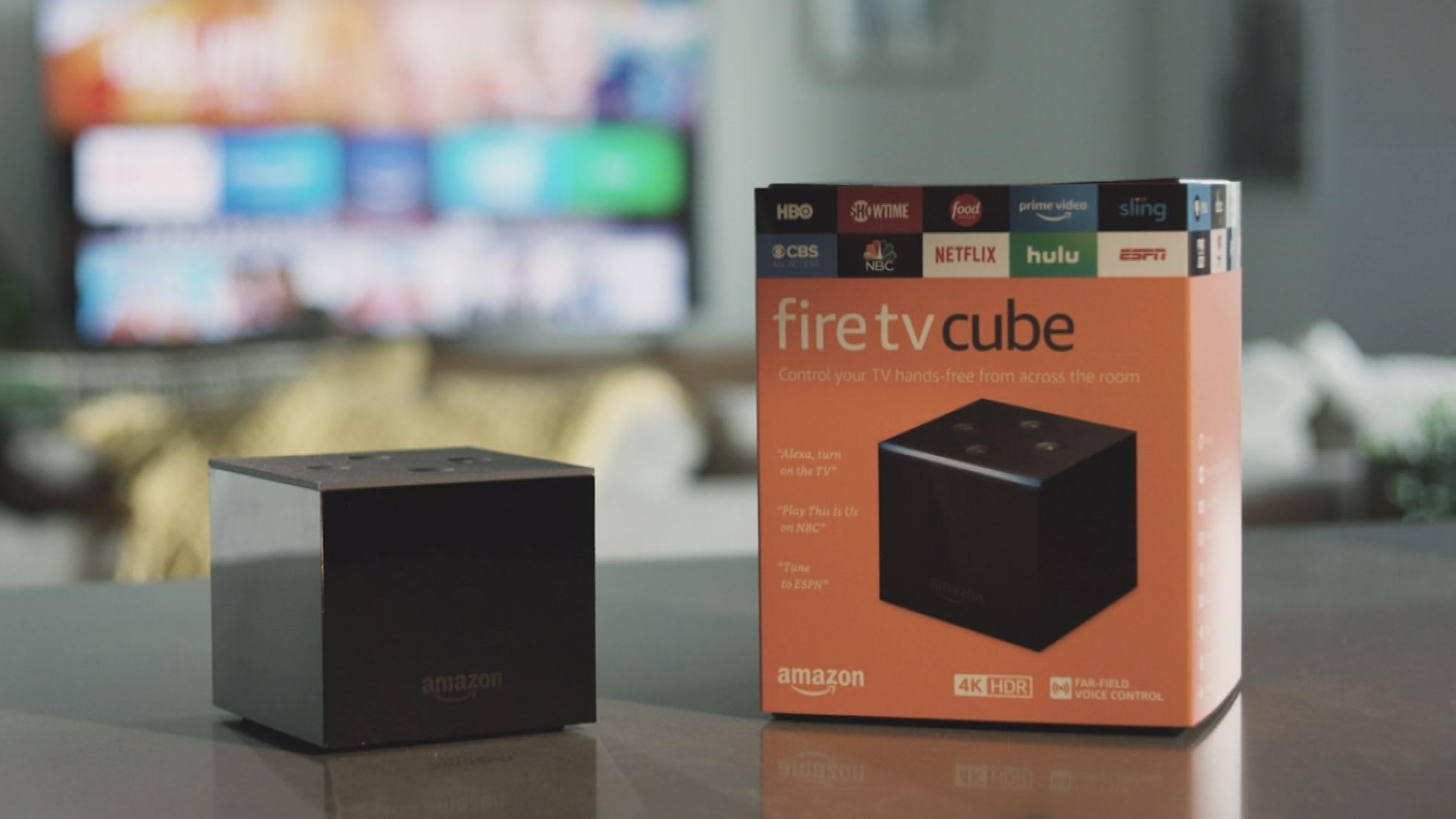 Amazon unveils Fire TV Cube