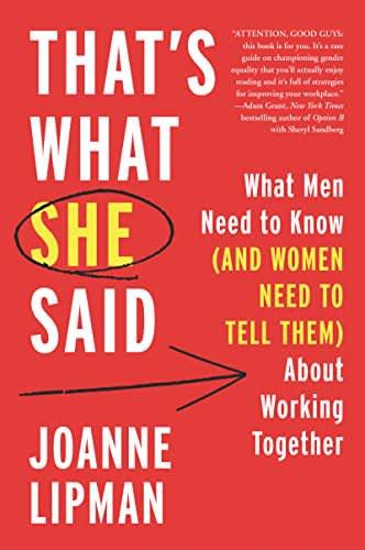 That's what she said book cover