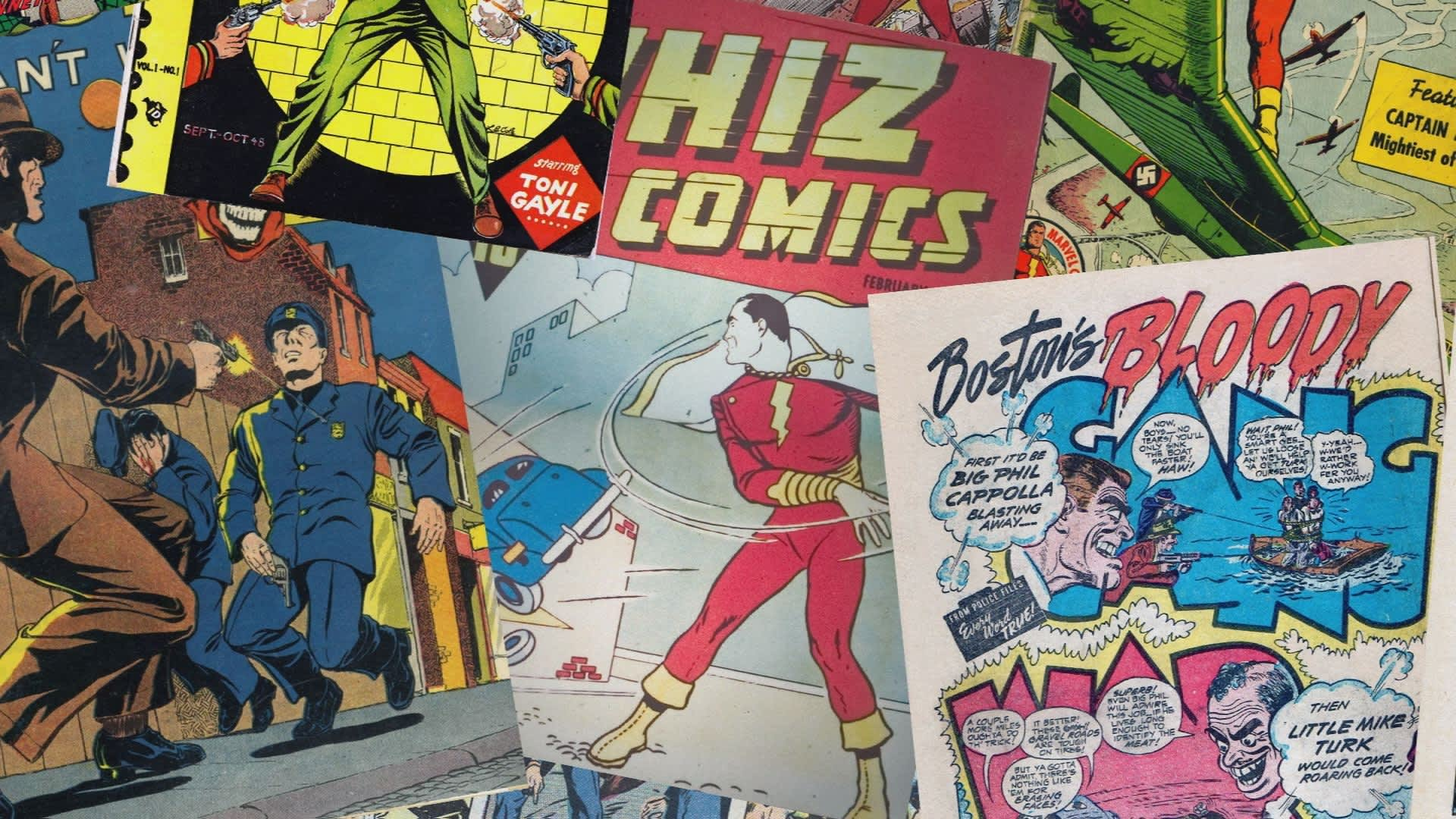 The moral panic that almost destroyed the comic book business