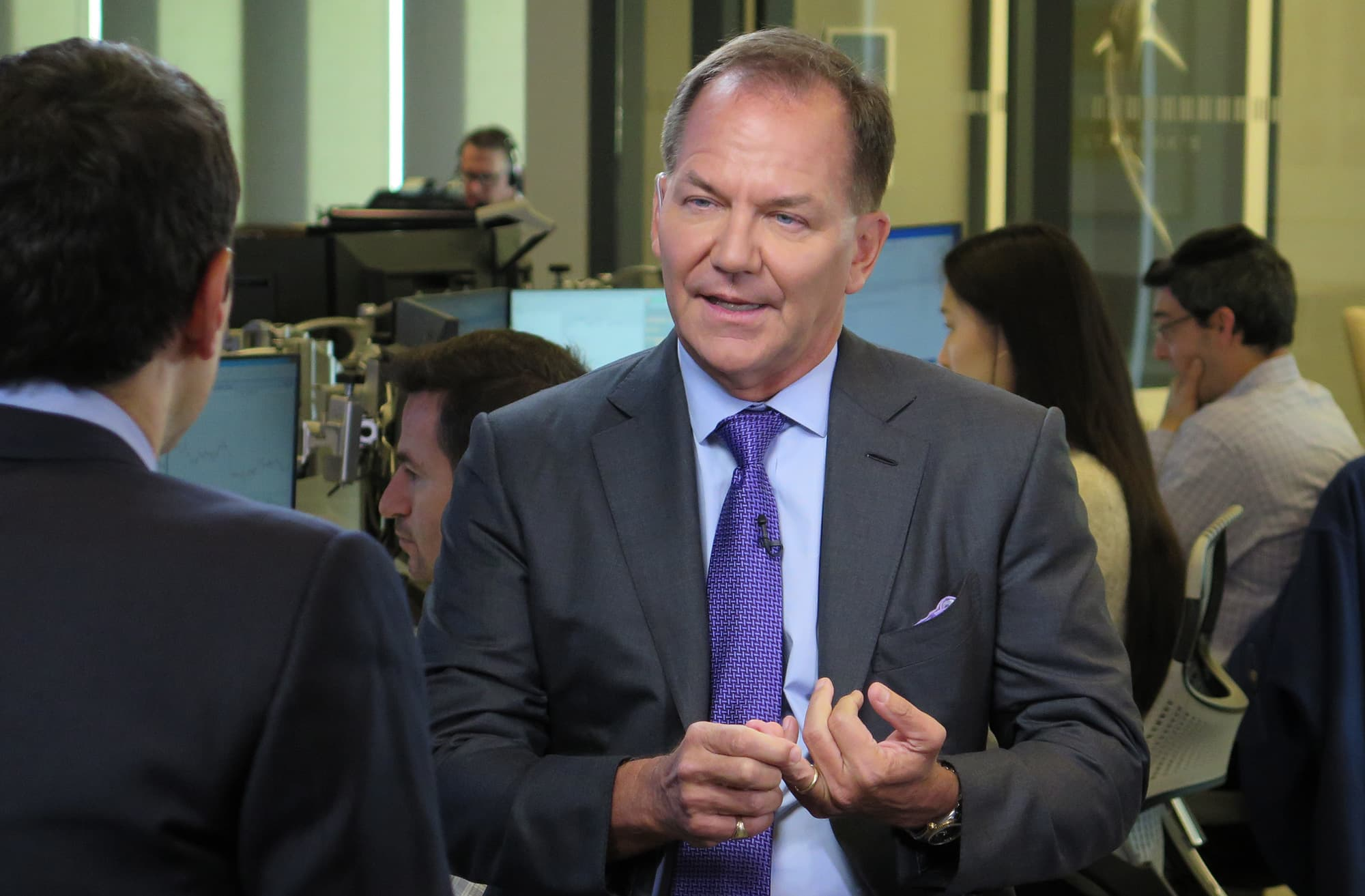 Paul Tudor Jones gets emotional about his daughter getting coronavirus