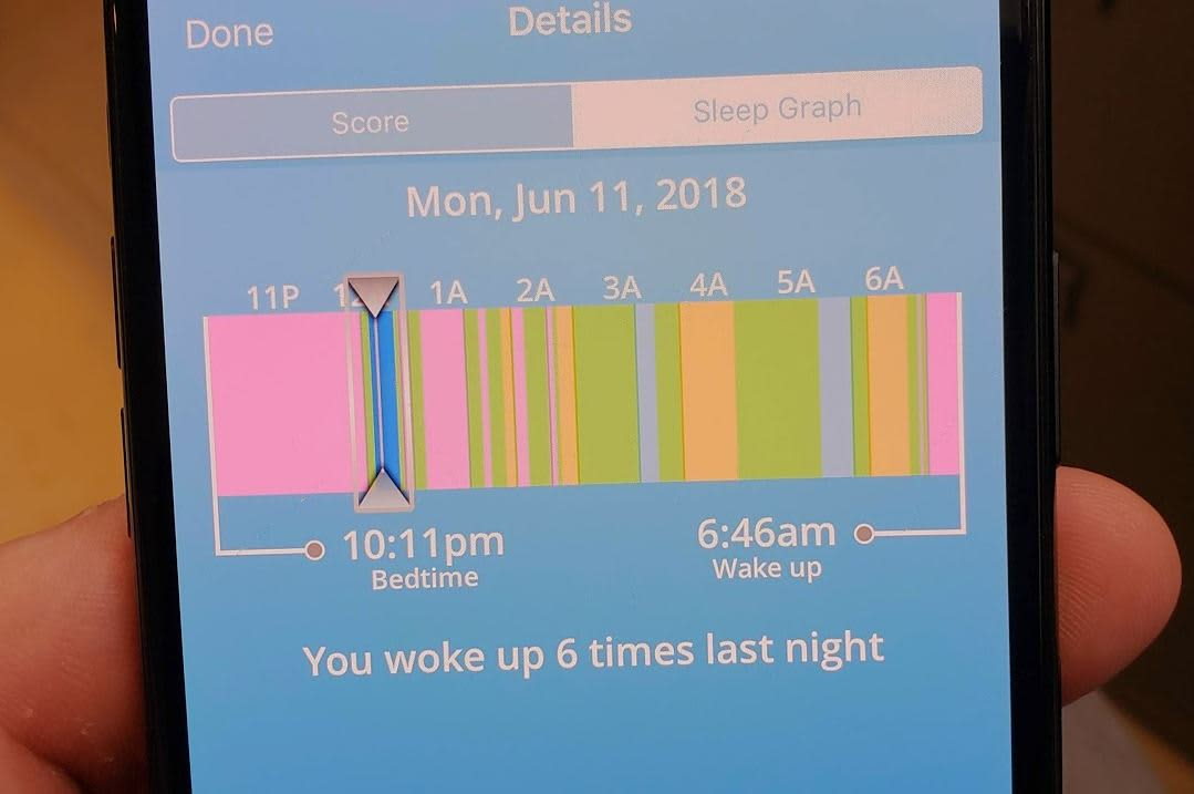 SleepScore tracks sleep with phone speakers only, no