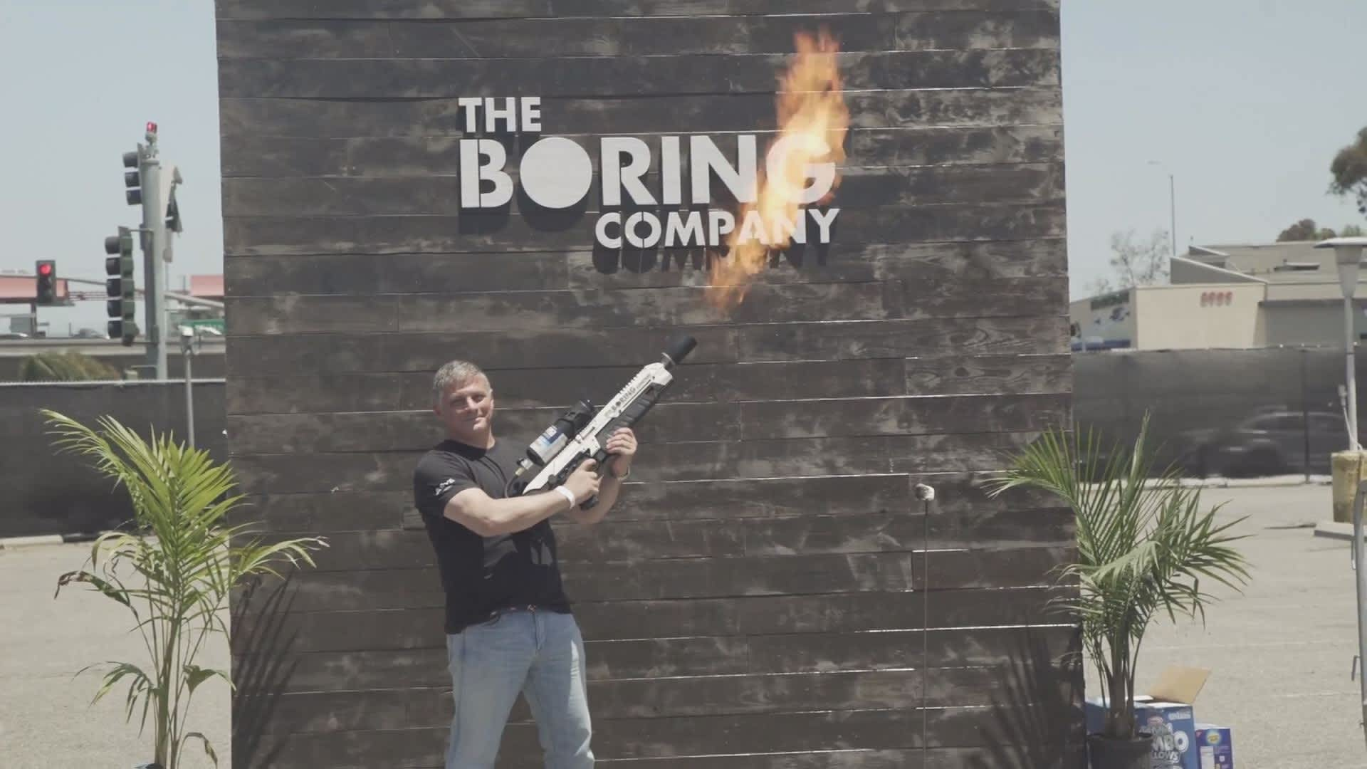 Elon Musk's flamethrower incenses New York lawmakers. State Senate passes bill banning the weapon