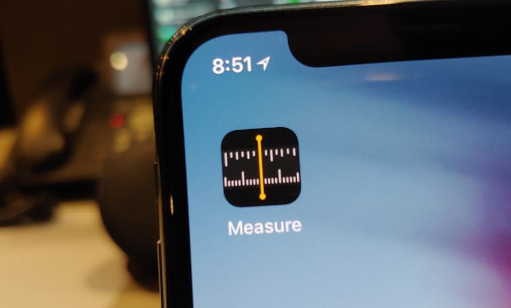 CNBC Tech: iOS 12 Measure app