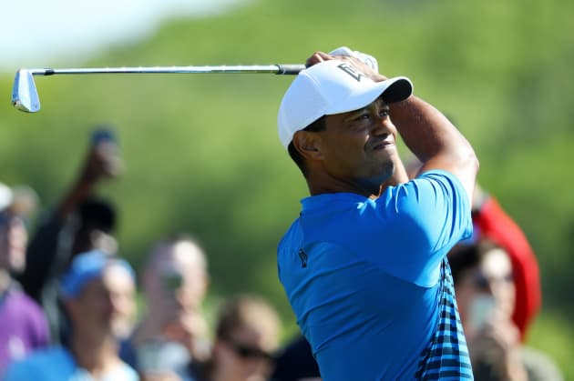 5eb68cbe Tiger Woods' yacht emerges as celebrity during U.S. Open week in New ...