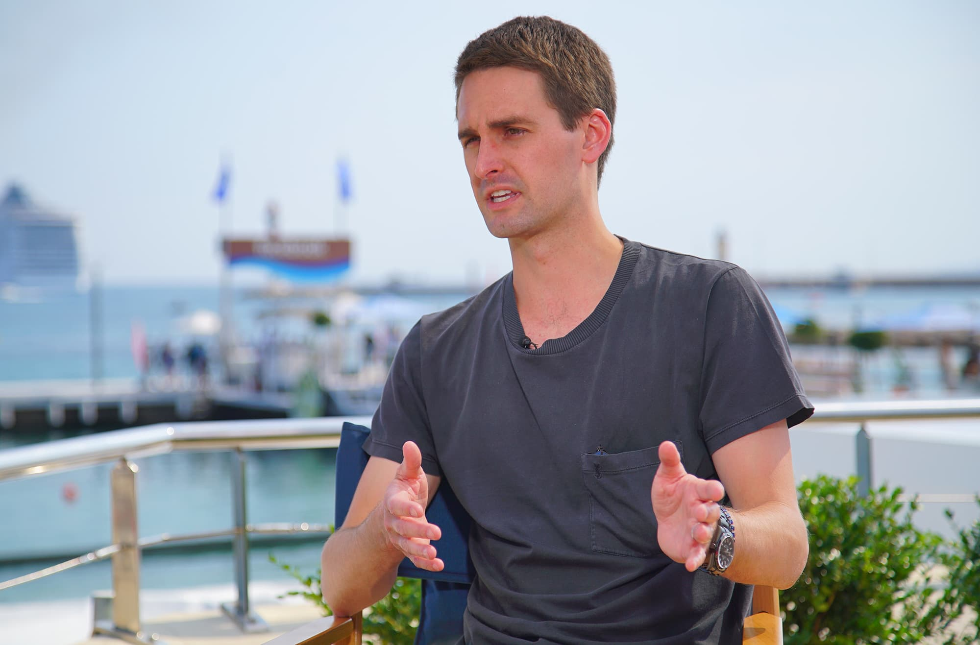 Evan Spiegel vows Snap will remain an independent company