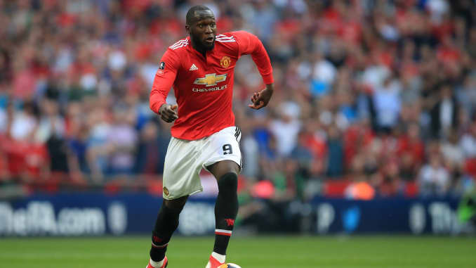 Premium: Romelu Lukaku plays for Manchester United