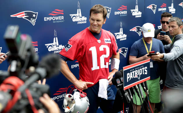 04874ad8429 Patriots QB Tom Brady addresses retirement, acknowledges there's 'an end  coming'