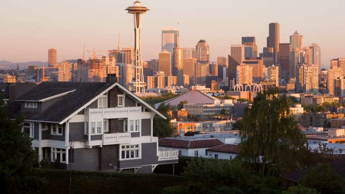 Seattle housing market is under pressure as Chinese buying