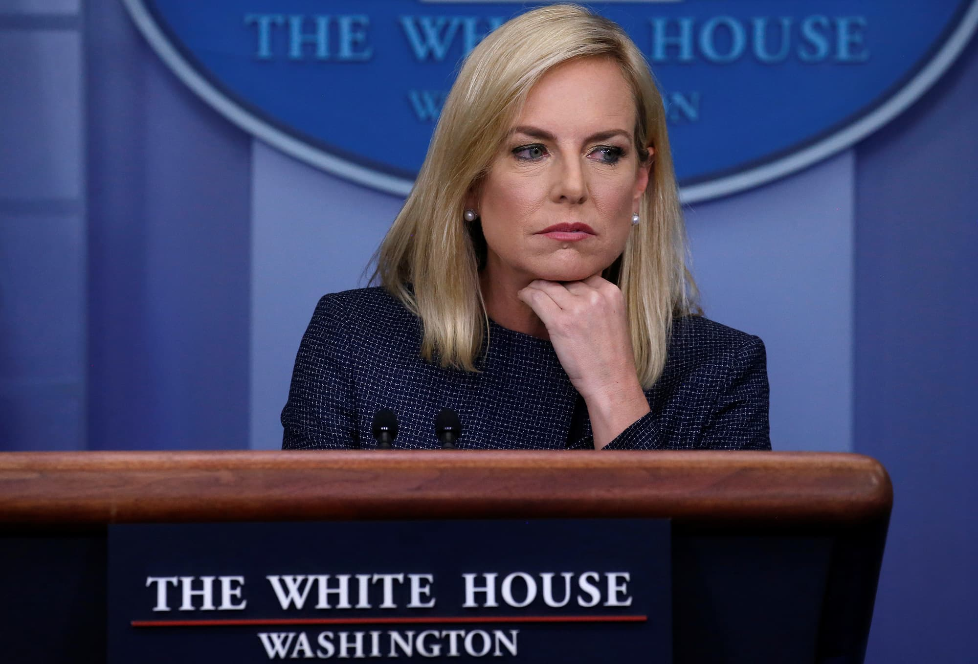 Kirstjen Nielsen is out as Homeland Security chief as Trump pushes for tougher border policy