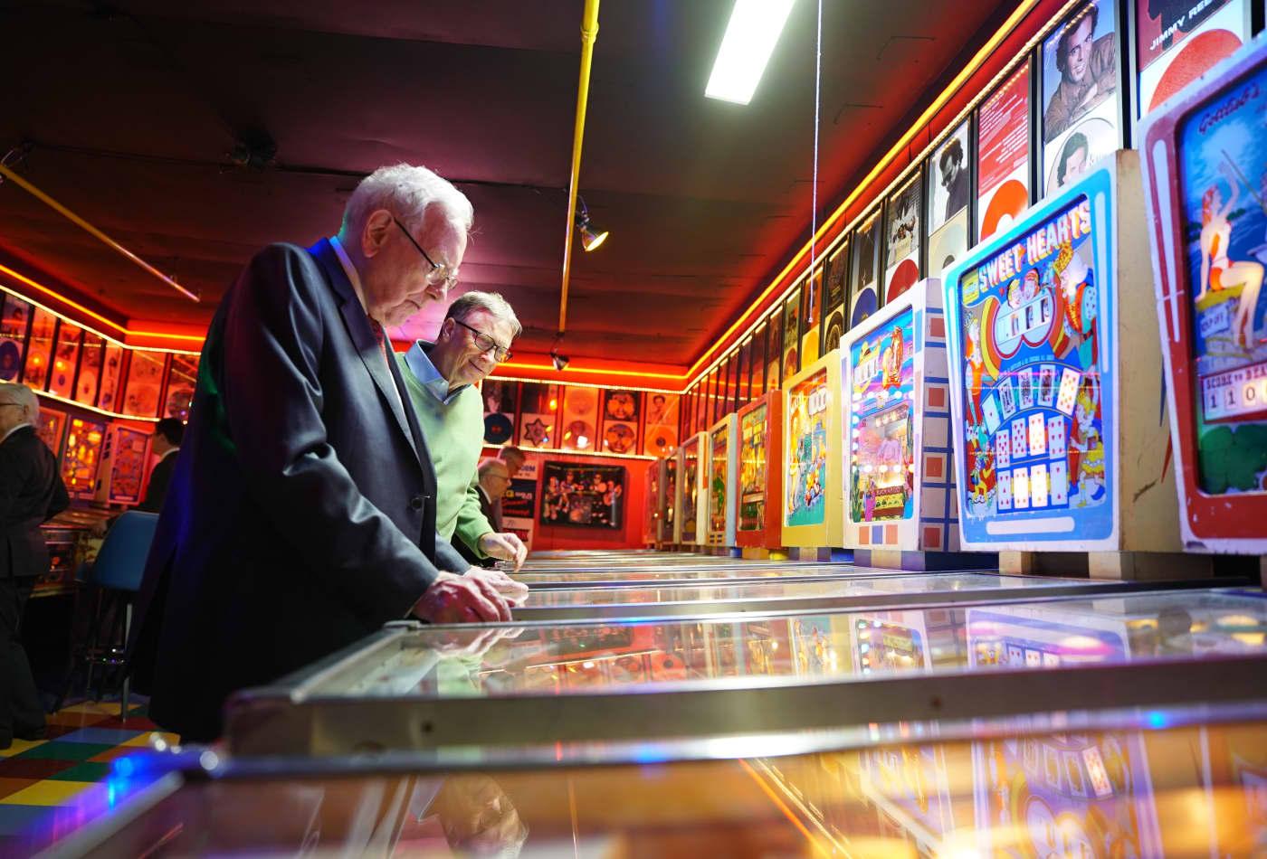 Warren Buffett bought a $25 pinball machine in 1946 and made