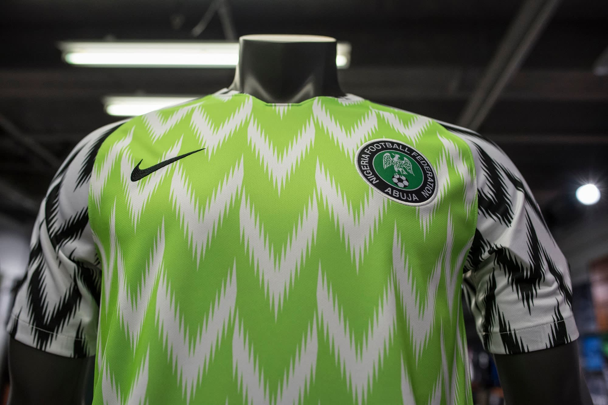 c6ac18238 Nike s Nigerian World Cup jersey breaks sales records