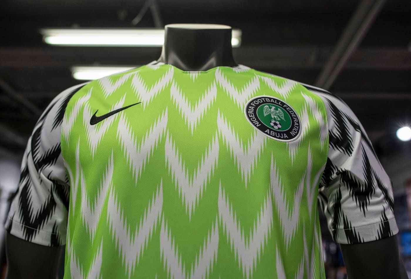 16da3488a49 The Nigeria Super Eagles jersey for the 2018 World Cup in Russia has been  hugely popular, both domestically and internationally, with fans scrambling  to get ...