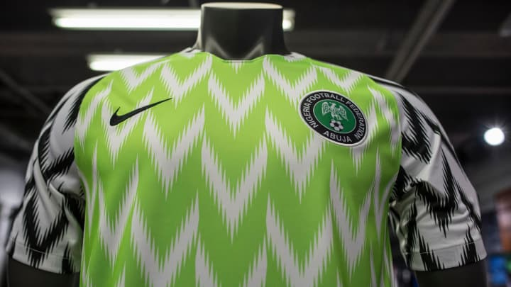 d1a7e38508a Nike s Nigerian World Cup jersey breaks sales records