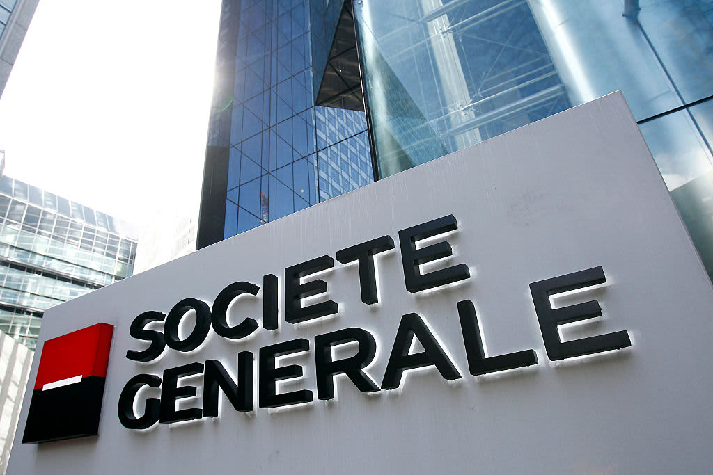 SocGen first-quarter profit dives 26% amid choppy market conditions