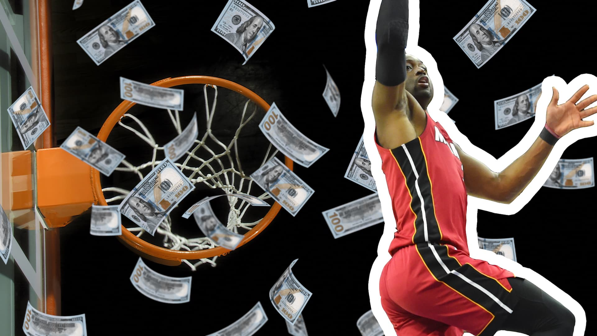 Why money worries keep NBA Miami Heat star Dwyane Wade up at