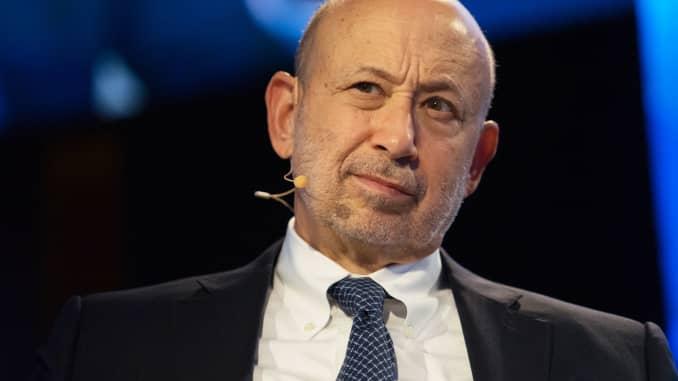 Premium: Lloyd Blankfein, Goldman Sachs 170920