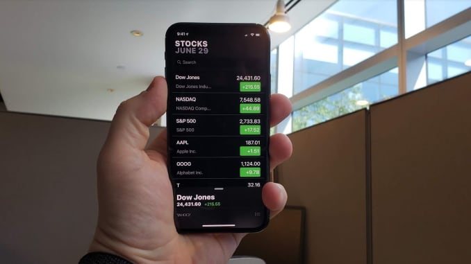 Apple iOS 12 new Stocks app: first look