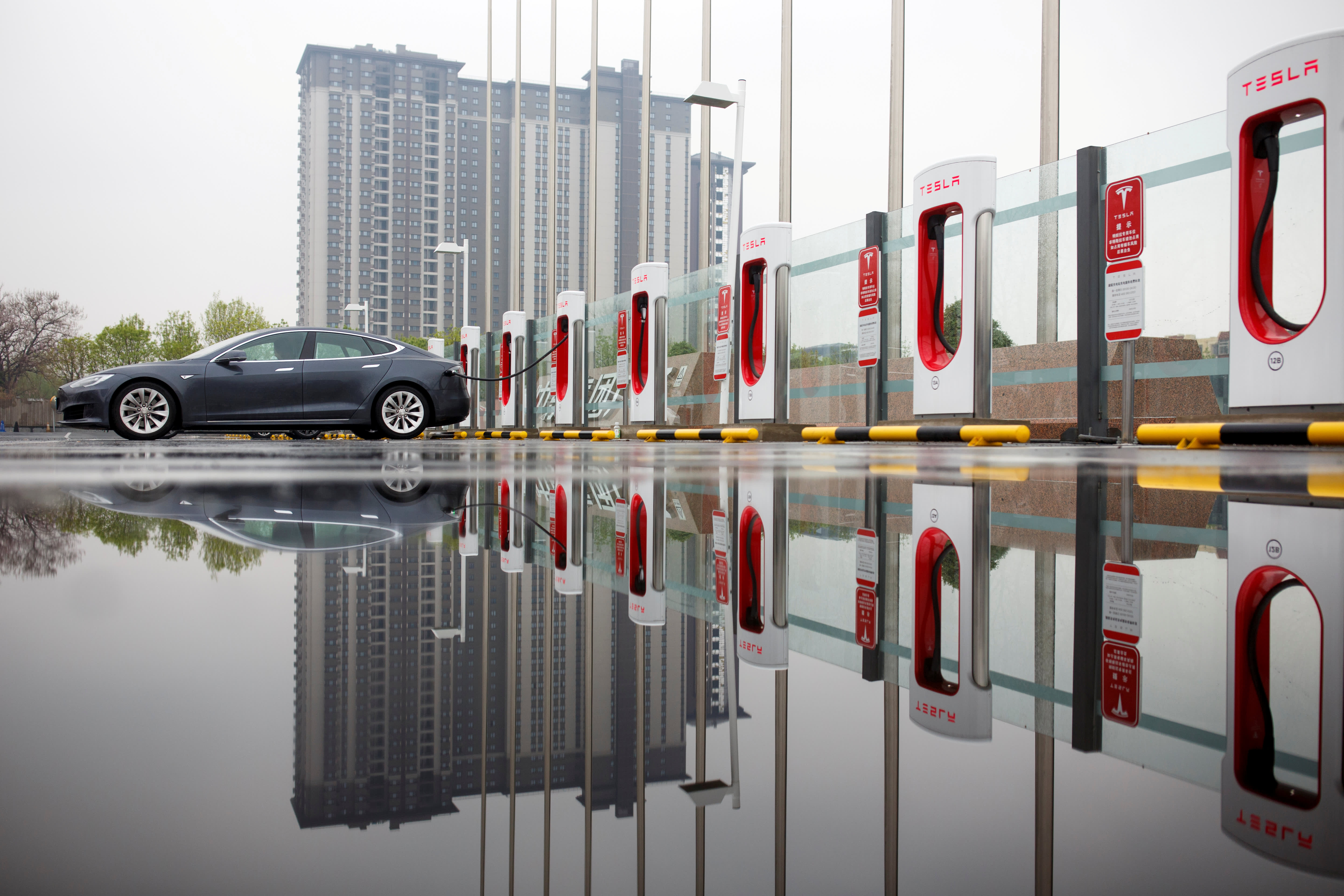Tesla's Model Y collapses in China sales rankings, data shows