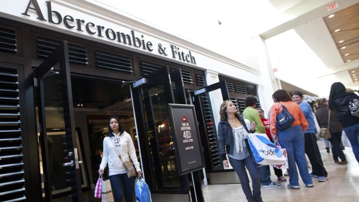 Abercrombie & Fitch will sell Green Growth Brands' CBD products in more than 160 stores