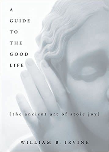 One time use: Book cover stoic