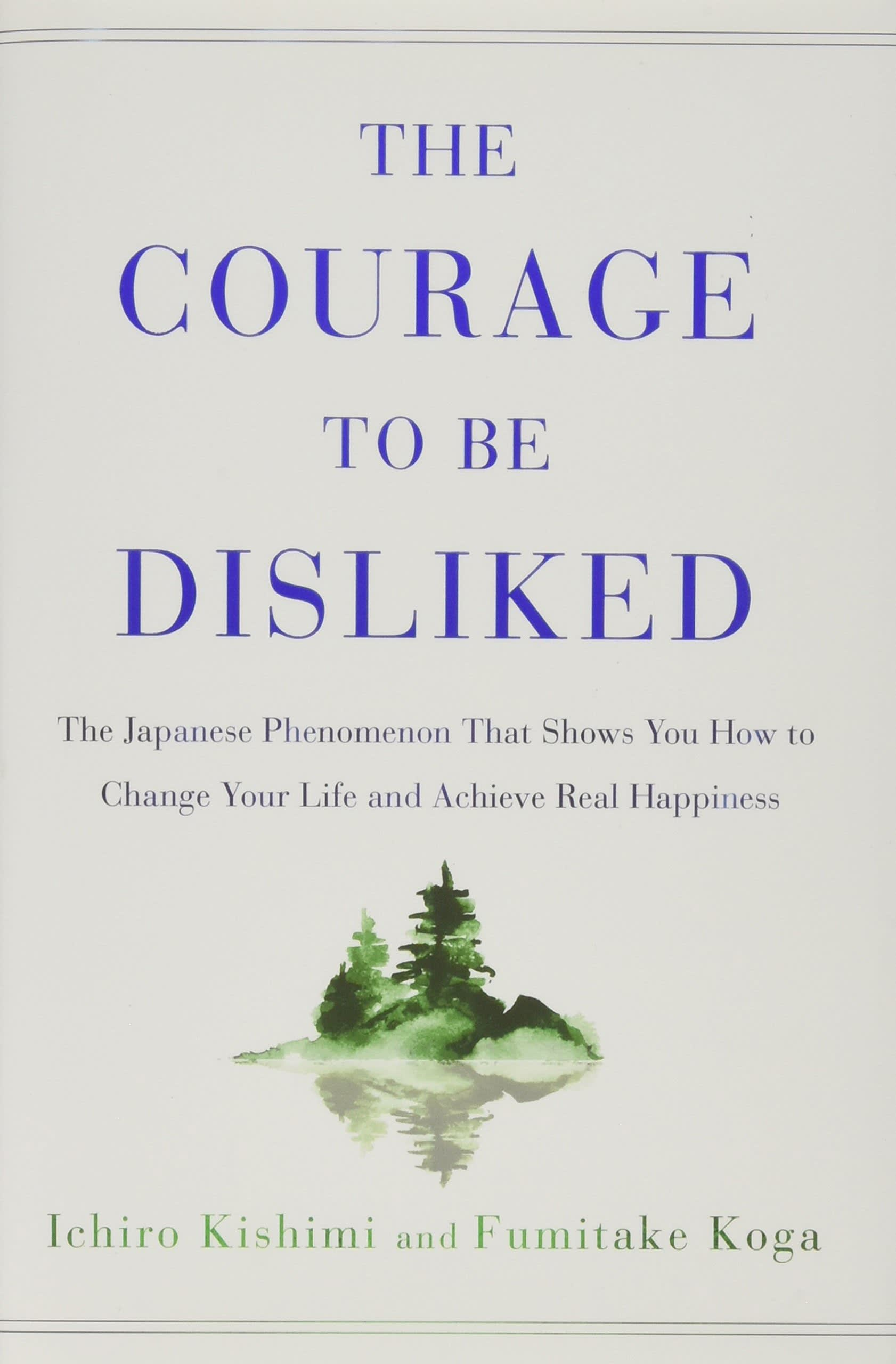 One time use: Book cover the courage of being disliked
