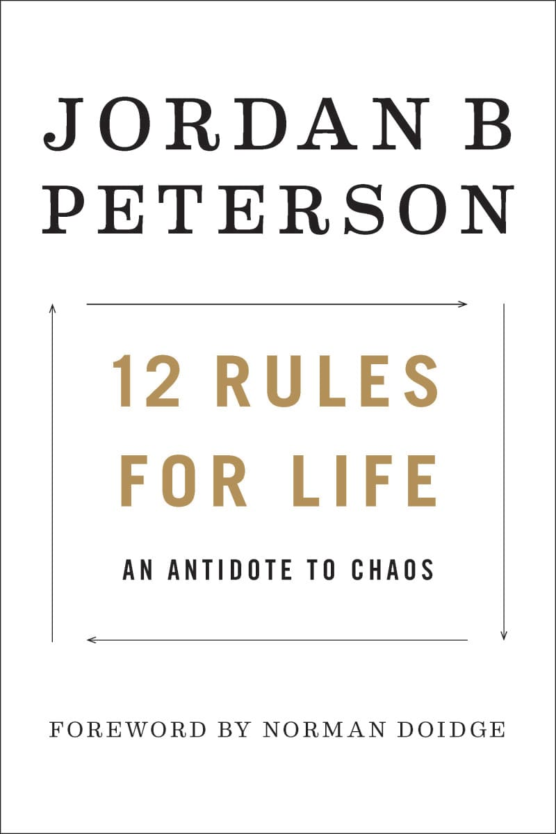 One time use: 12 rules for life