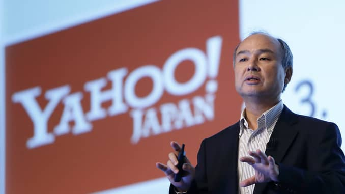 SoftBank's Vision Fund has already invested $70 billion, CEO