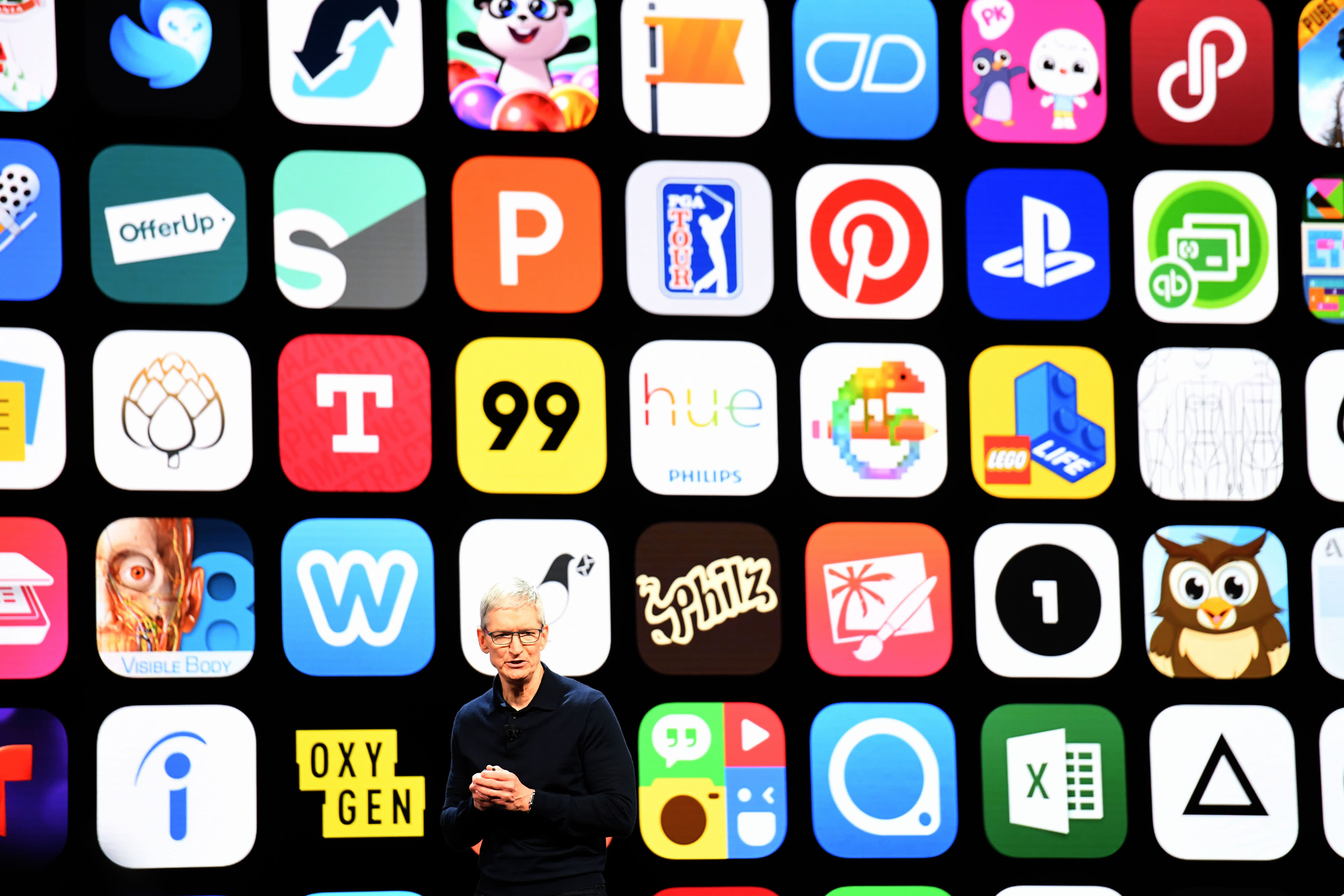 Apple's App Store had gross sales around $50 billion last year, but growth is slowing