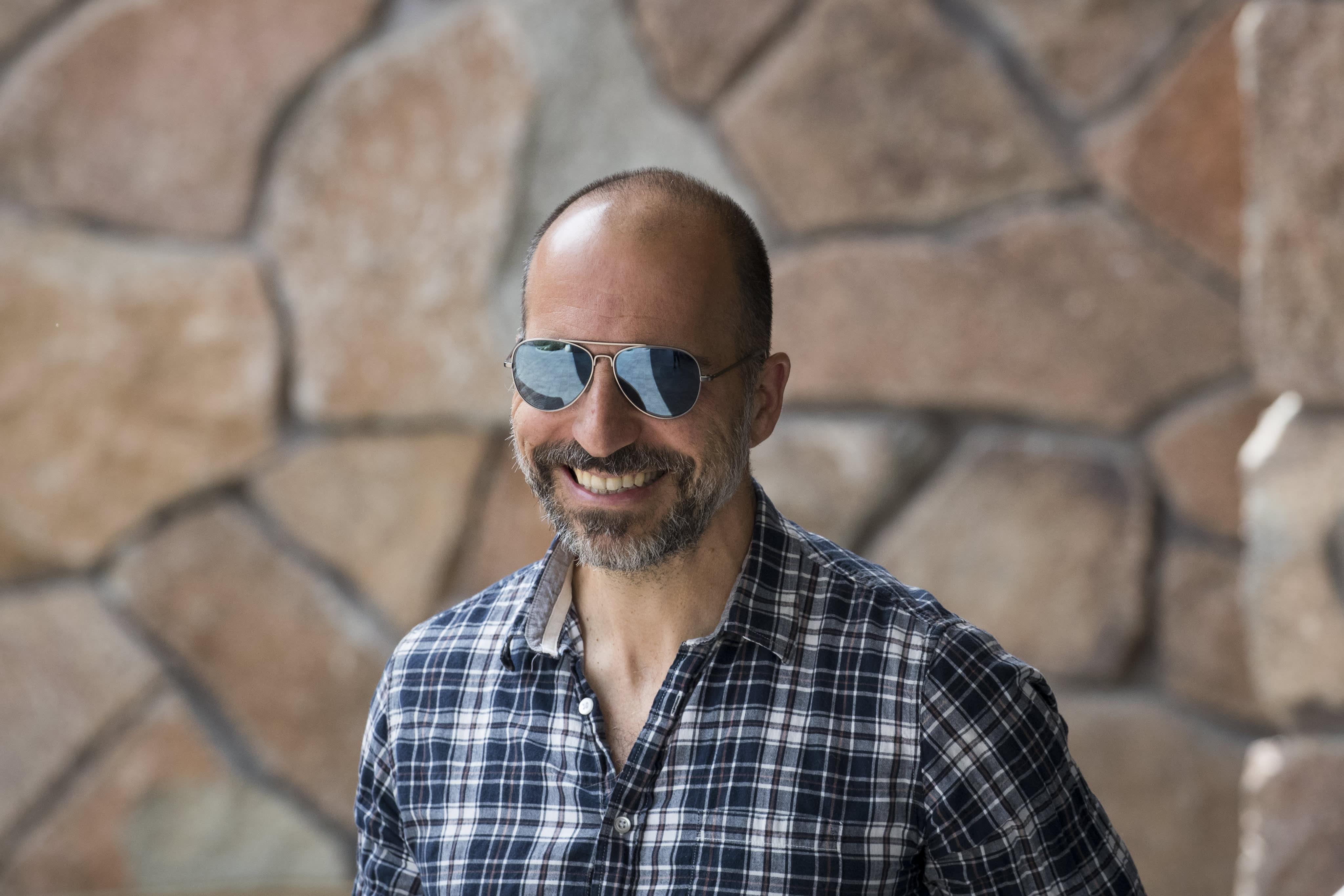 GS: Dara Khosrowshahi Uber sun valley