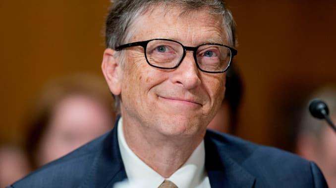 Bill Gates, billionaire and co-chair of the Bill and Melinda Gates Foundation, in Washington, D.C., U.S., on Thursday, March 26, 2015.