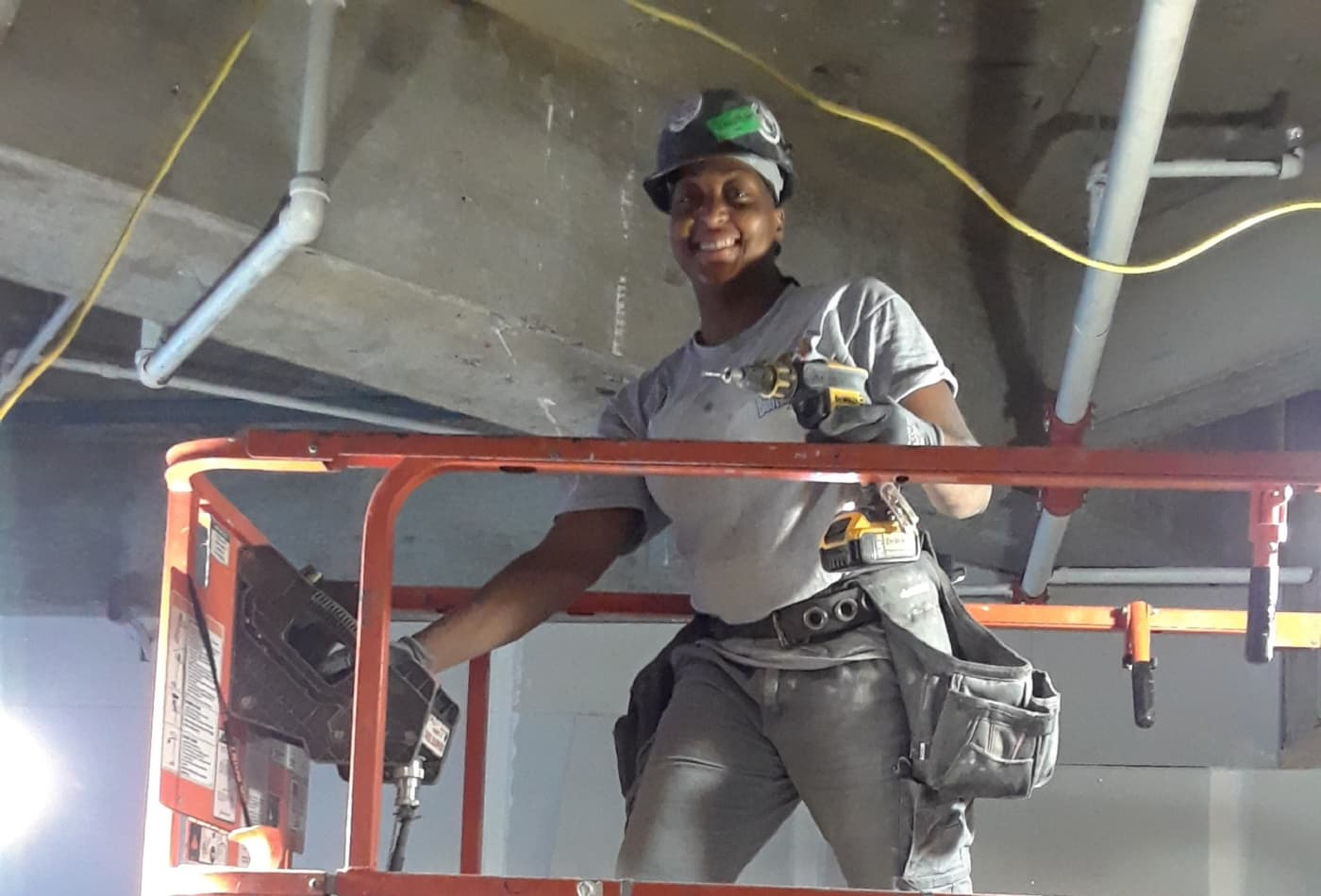 Here's what it's like to be a woman construction worker