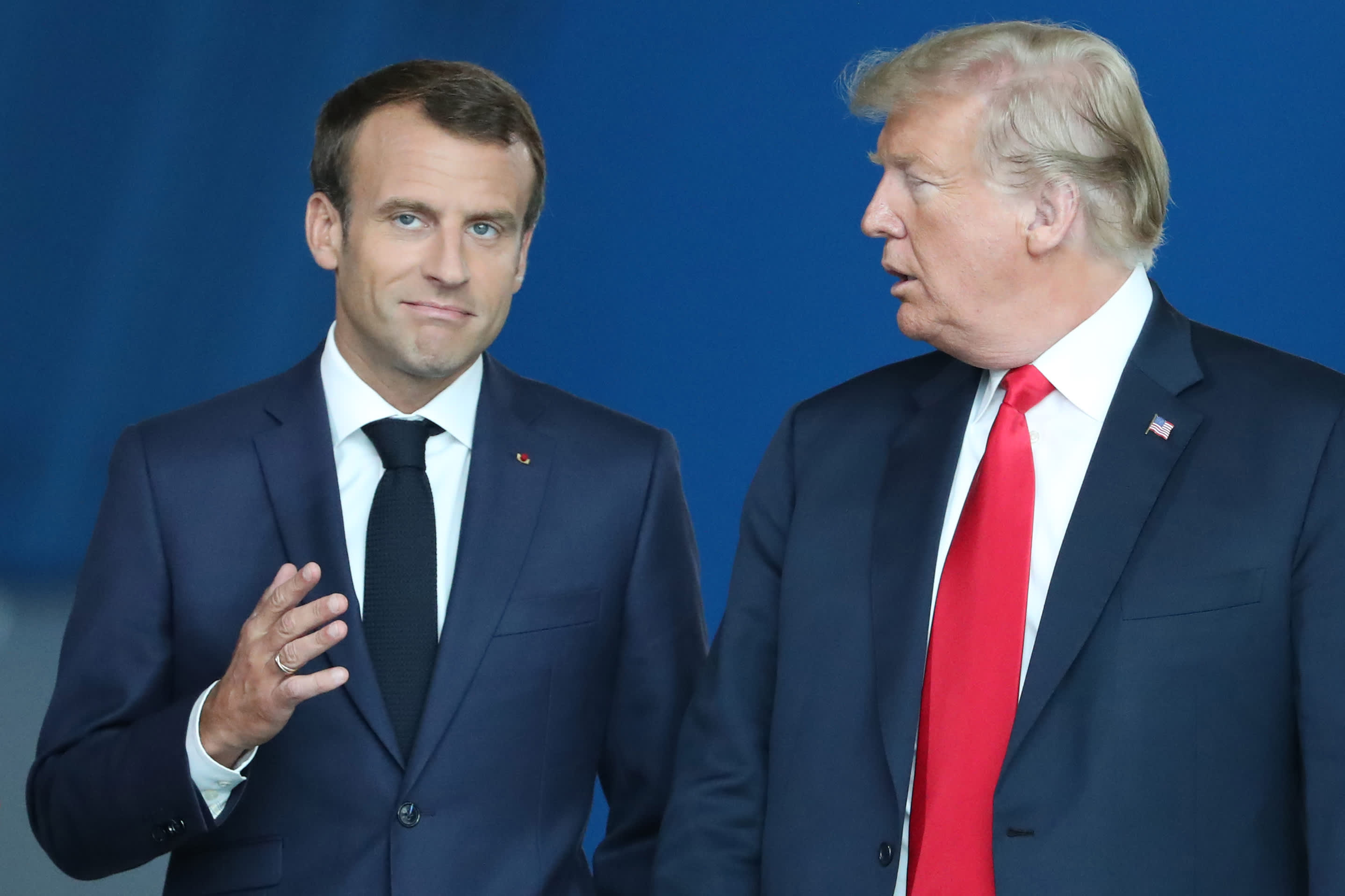 Trump slams Macron for 'insulting' and 'disrespectful' NATO comments