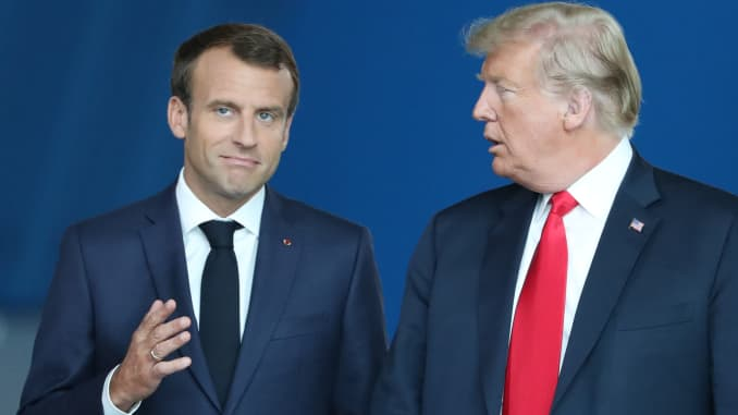 Trump Macron Agree On European Defense After Trump S Very Insulting Comment